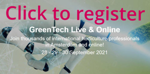 GreenTech Live Registratie